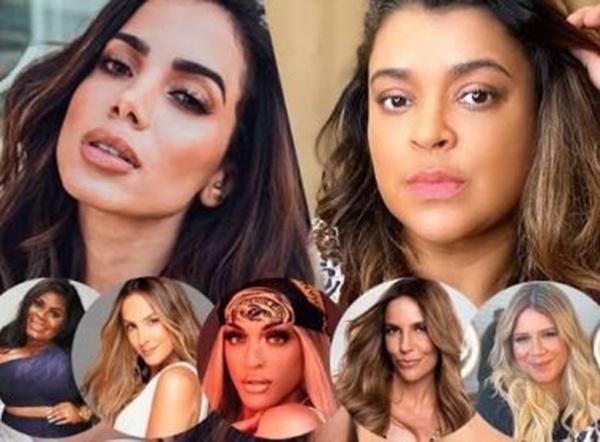 Áudio de 1 min envolve Anitta, Pabllo, Jojo, Ivete, Claudia Leitte, Marília, Preta Gil numa briga!