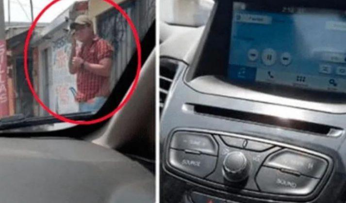 Homem sai do carro para ouvir áudio da amante, mas deixa Bluetooth ligado e esposa ouve tudo