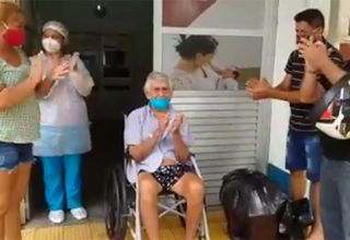 Idoso de 104 anos vence o Coronavírus em Tefé
