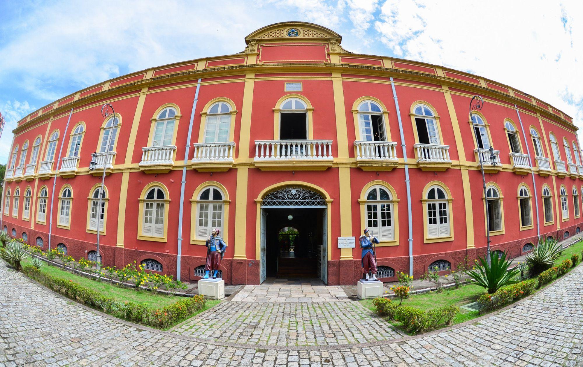 Palacete Provincial / Foto Michael Dantas