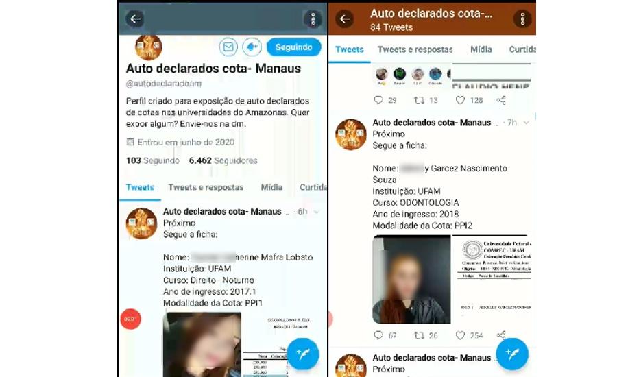 Perfil de rede social denuncia fraudes no sistema de cotas das Universidades