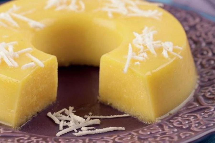 Saiba como fazer um delicioso pudim de côco na panela de pressão / reprodução/Globo.com