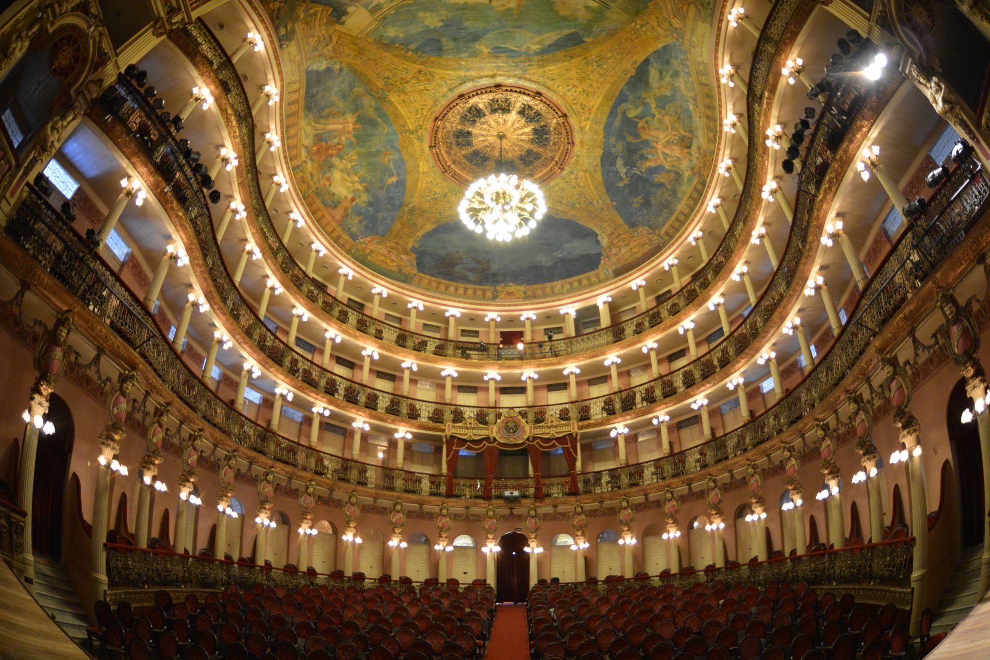 Teatro Amazonas / Foto Michael Dantas