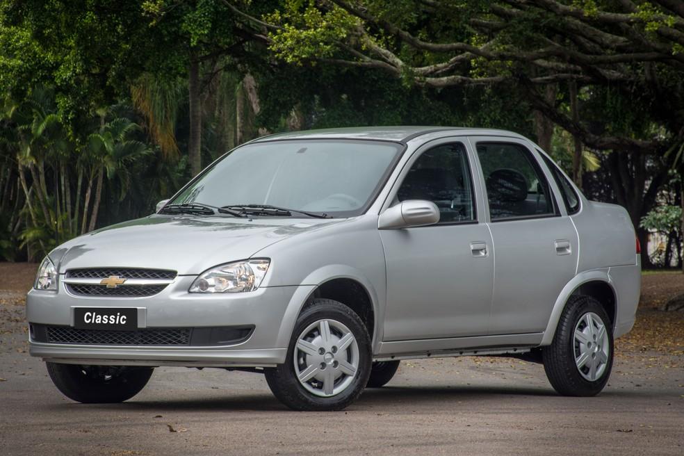 Chevrolet Classic também foi chamado para recall por airbags defeituosos