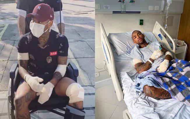 Nego do Borel posta foto e faz desabafo após acidente / Reprodução/Instagram
