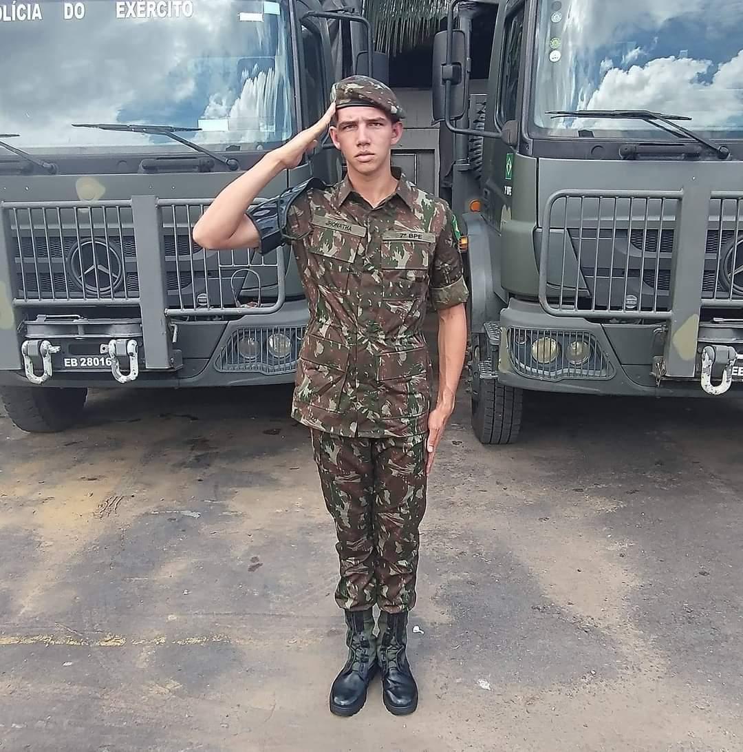 Soldado de 18anos é morto em Manaus durante a madrugada em serviço / Foto : Divulgação