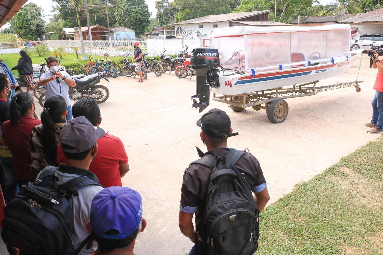 Comunidade rural de Barreirinha é beneficiada com estação de tratamento de água