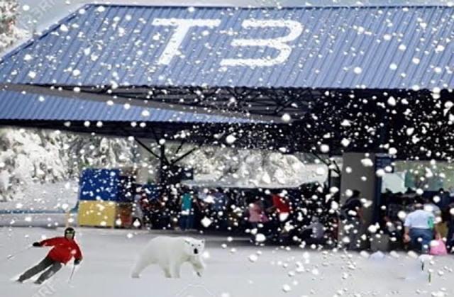 A forte massa de ar polar chega em Manaus e o máximo que ela consegui foi baixar a temperatura para 25ºC neste sábado