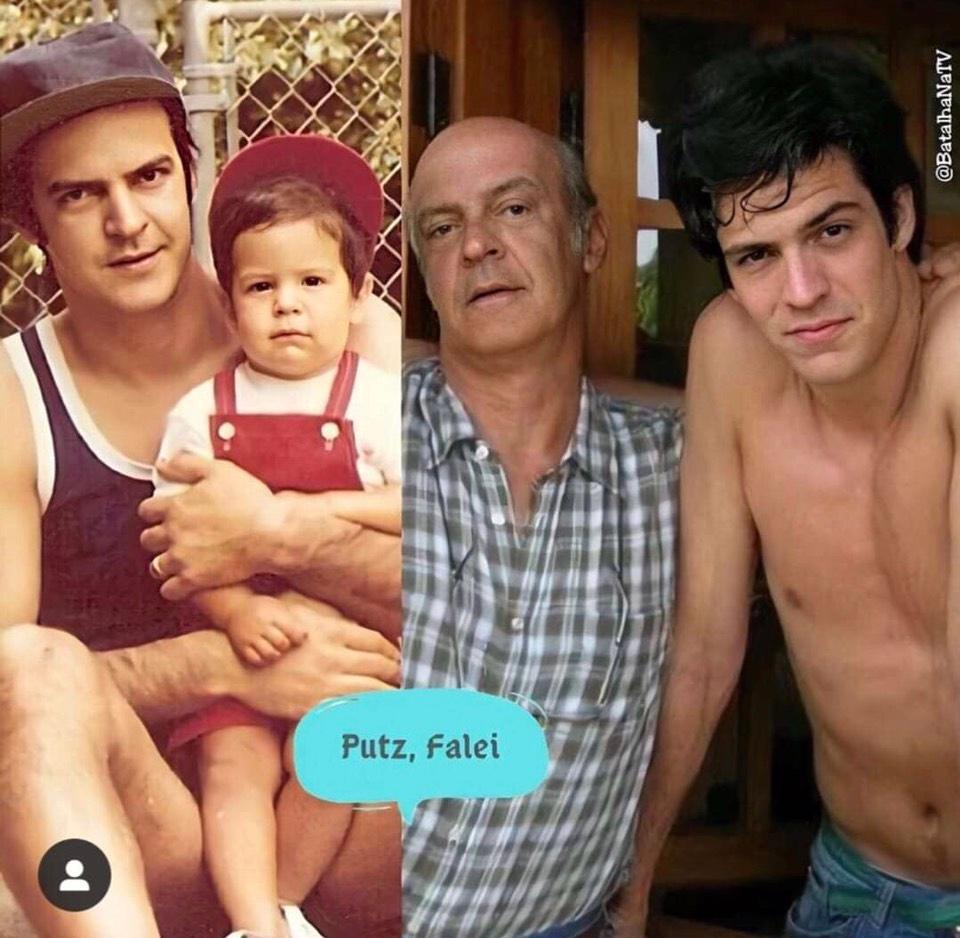 E o Matheus Solano que foi pai dele mesmo. Entenda