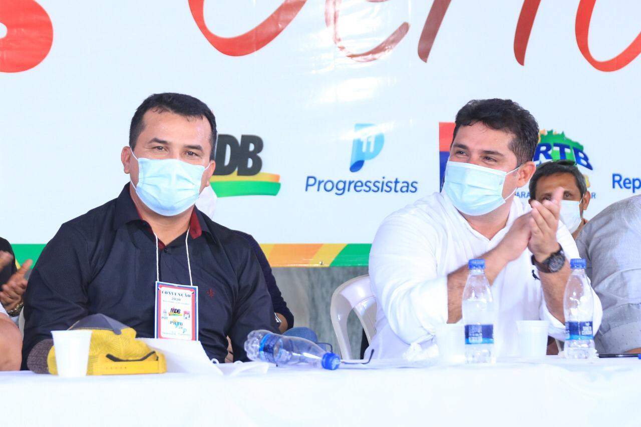 prefeito Glenio Seixas candidato a reeleição em Barreirinha / Foto : Divulgação