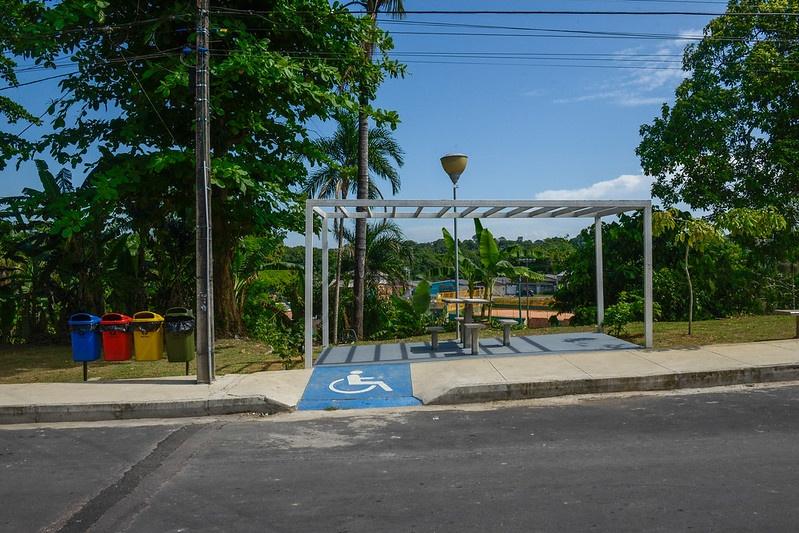 Área Verde Conjunto Hileia 2 / Foto – Alex Pazuello / Semcom