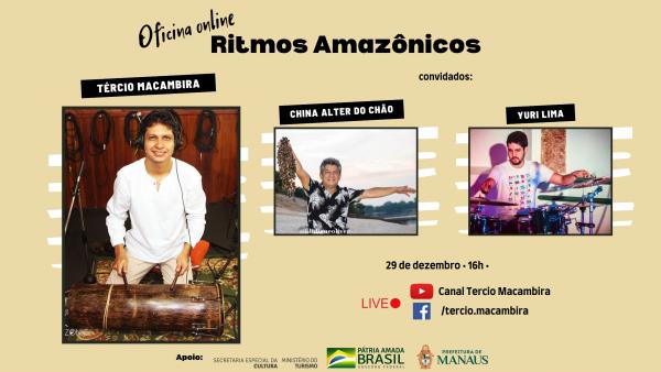 Ritmos Amazônicos / Tércio Macambira / Divulgação
