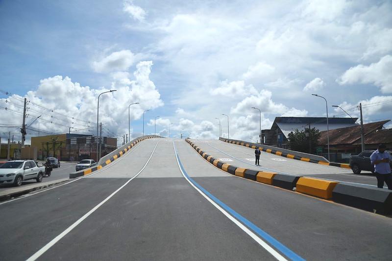 Prefeitura quer que responsáveis por viaduto do Manoa façam as adequações necessárias